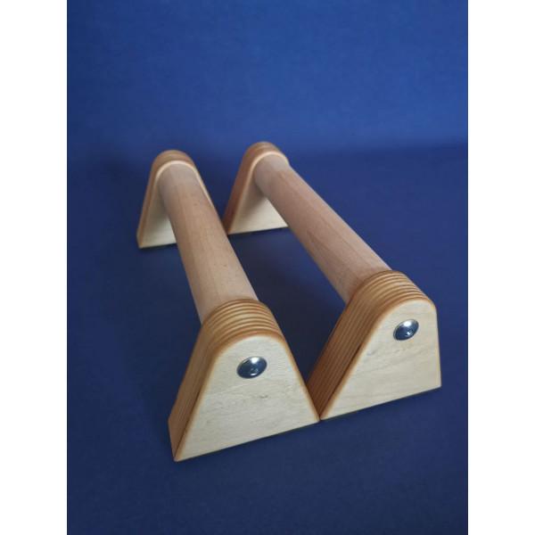 Push Up Handles - NATUR, handtillverkade i Sverige