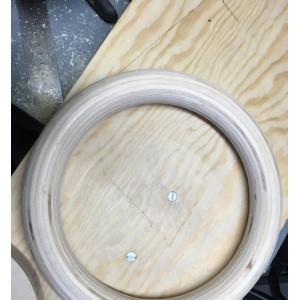 Romerska Ringar i Trä (handtillverkade i Sverige)